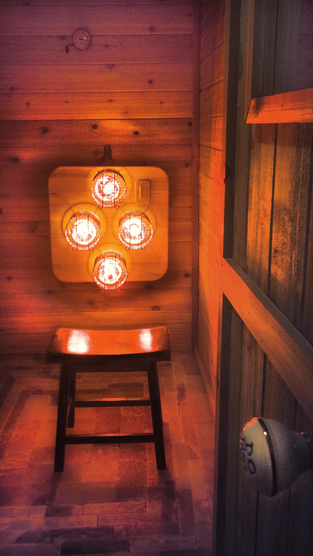 Near Infrared Sauna